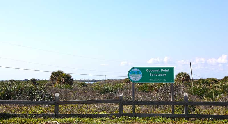 Coconut Point Sanctury Sign