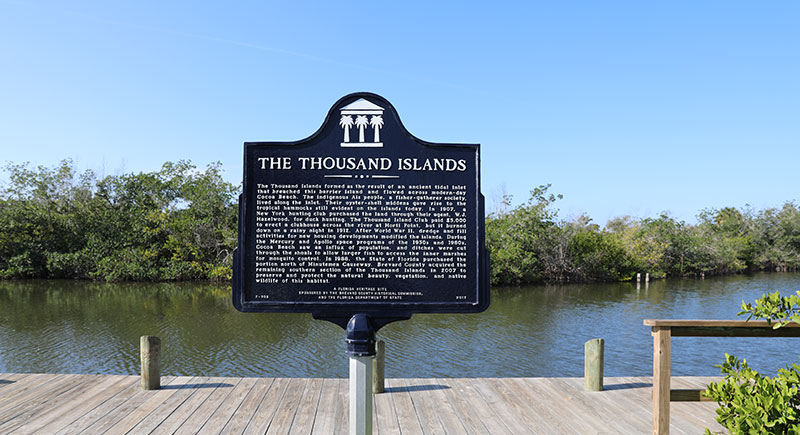 The Thousand Islands Plaque