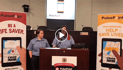 Space Coast Daily PulsePoint Launch Video