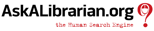 Ask a Librarian dot org the Human Search Engine