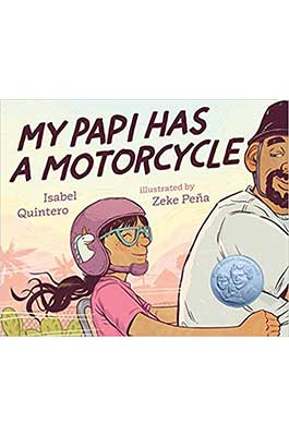 My Papi Has A Motorcycle Book Cover