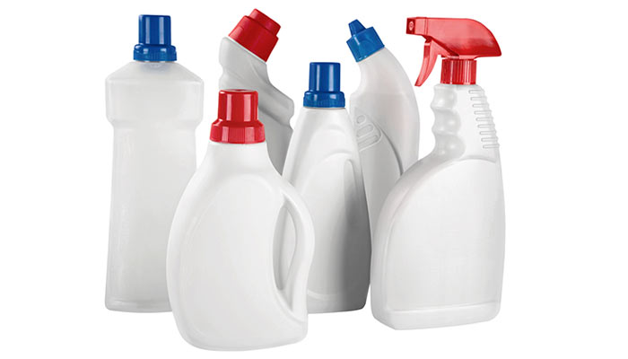 Plastic spray and pump bottles